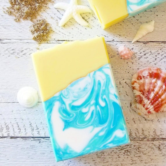 Coconut Water & Pineapple Silk Soap / Handmade Soap / Cold Processed Soap