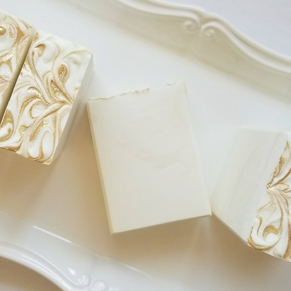 White Tea & Citrus Silk Soap / Handmade Soap/ Cold Processed Soap