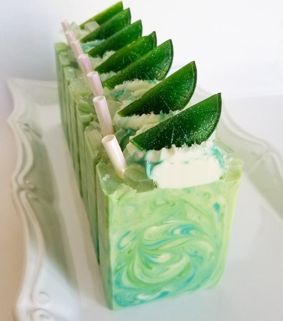 Margaritaville Silk Soap / Handmade Soap / Cold Processed Soap