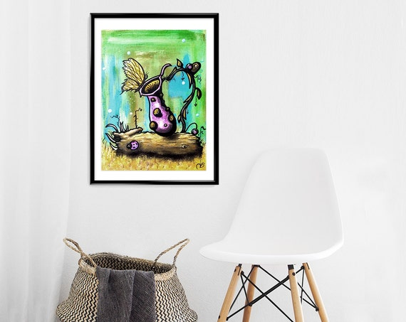 """A Beautiful Danger""- Print, Framed Print, or Canvas Giclee"