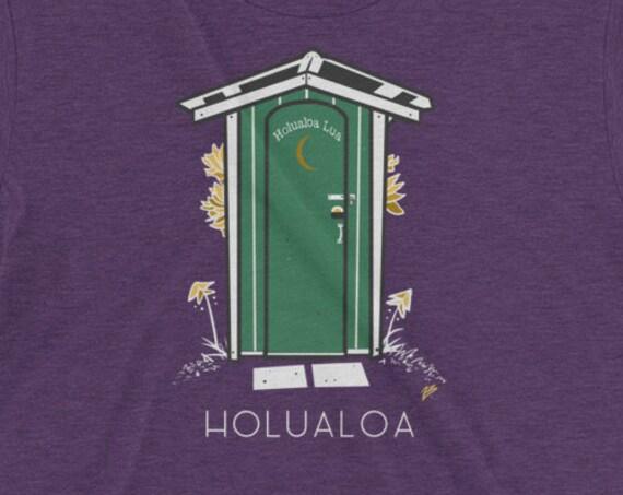 Holualoa Lua Vintage Hawaii T-shirt- Big Island Kona Tee Aloha Shirt