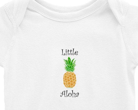 Little Aloha Baby Onesie