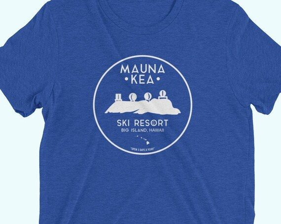 Mauna Kea Ski Resort Hawaii T-Shirt
