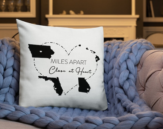 "Special Edition ""Close at Heart"" Custom Pillow"