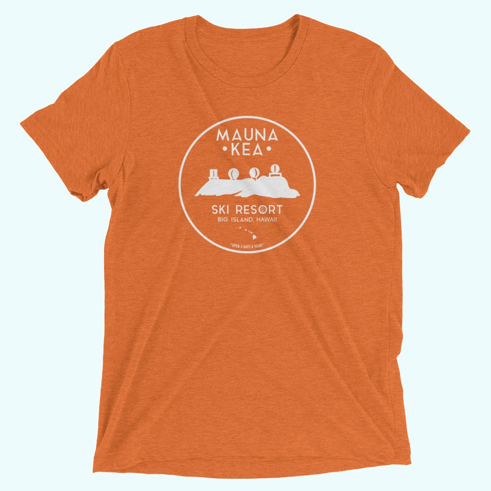 e6e90abb4 Mauna Kea Ski Resort Hawaii T-Shirt Vintage Big Island Volcano ...