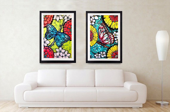 Journey of the Butterflies- Print, Framed Print, or Canvas Giclee