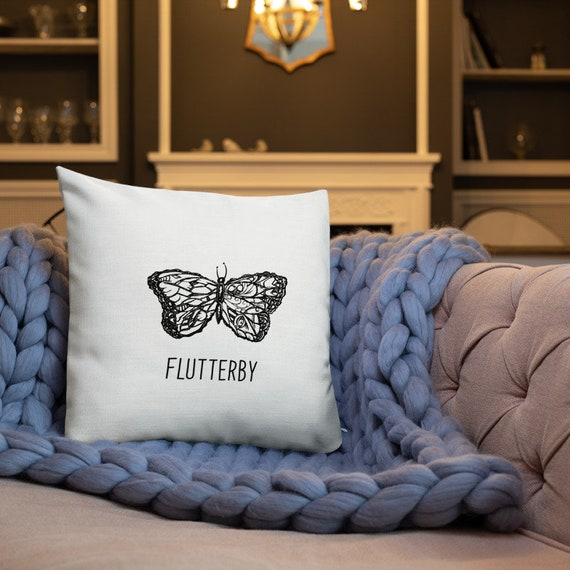 Flutterby Accent Pillow