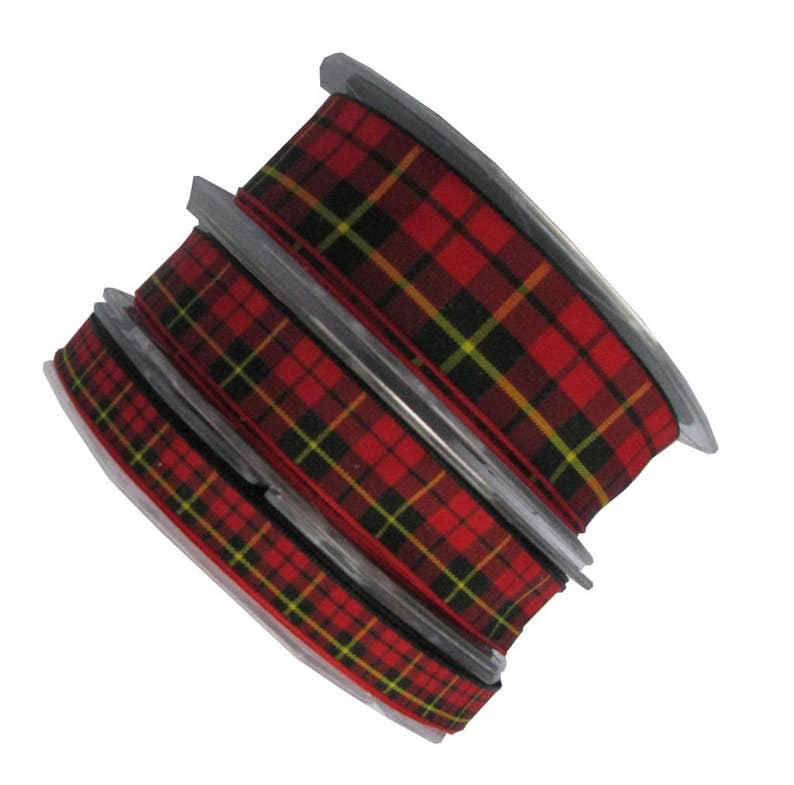 cut lengths /& 20m reels Pride of the Glen Scottish Tartan Ribbon-various widths