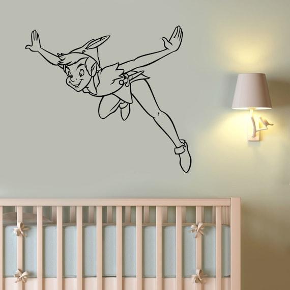 Peter Pan Disney Home Vinyl Wall Decal Sticker Teen Kids Decor