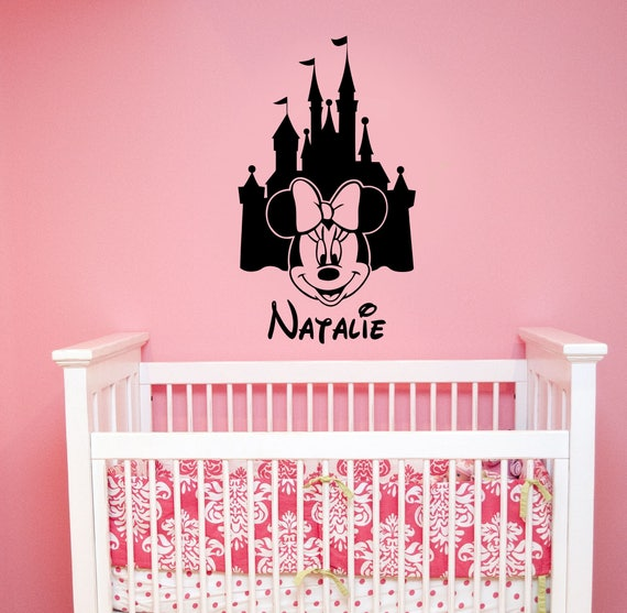 BELLE DISNEY PRINCESS Decal Removable WALL STICKER Home Decor Girls Choose Size