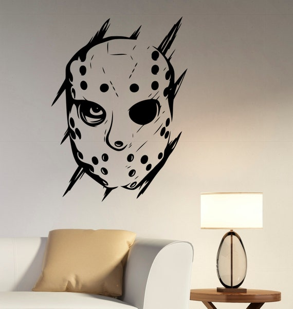 Jason Voorhees Wall Decal Vinyl Sticker Friday The 13th