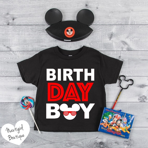 Mickey Birthday Boy Shirt Disney