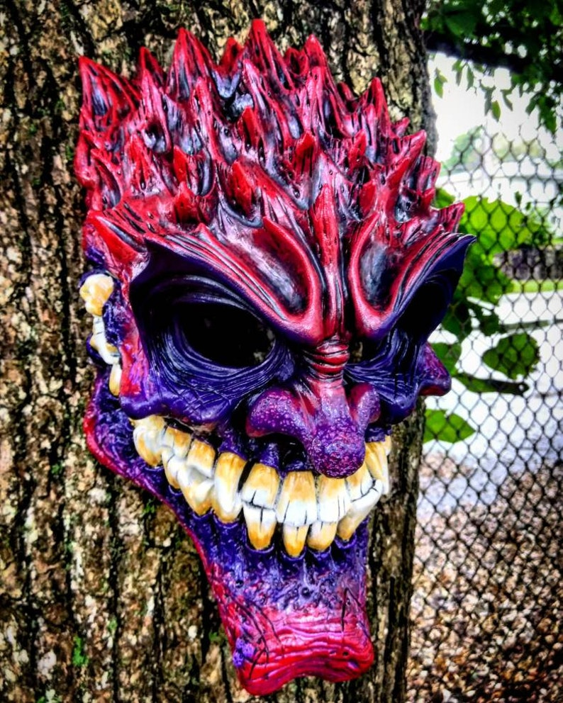 RavenousBlood redwearable mask by Wicked Wall Masks image 0