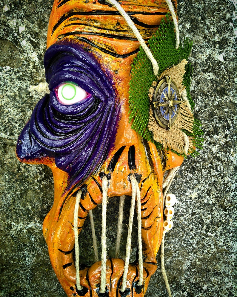 Cryptic zombie Wall Mask by Wicked Wall Masks image 0