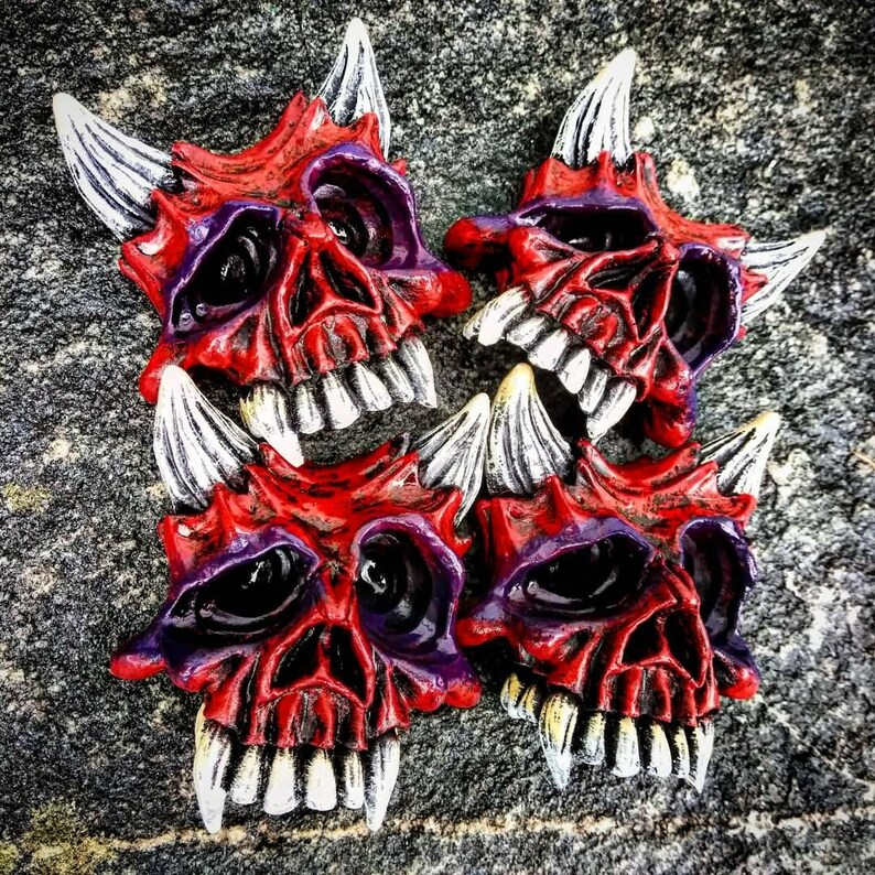 Lil Scratch magnet by Wicked Wall Masks image 0