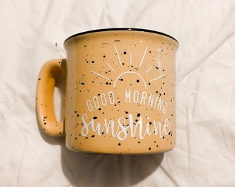 Good morning mug | Etsy