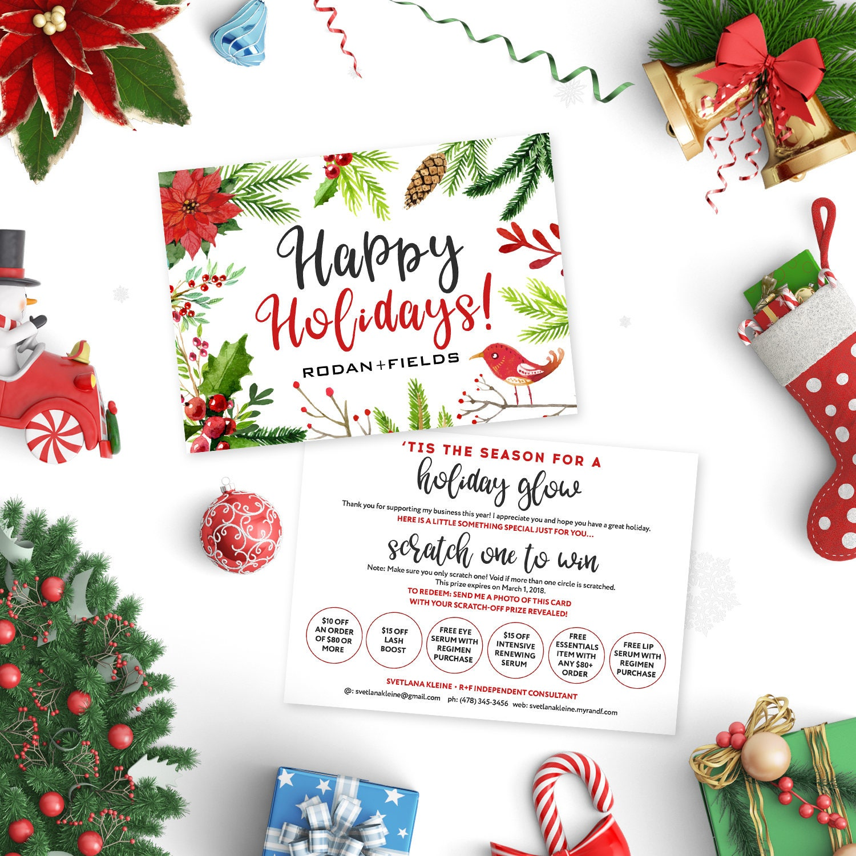 Rodan And Fields Happy Holidays Cards Rodan Fields
