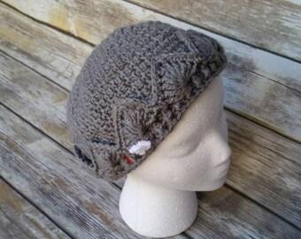 Riverdale Jughead hat crochet pattern, jughead beanie, slouchy beanie, crochet hat pattern, dad hat, jughead jones hat, riverdale beanie