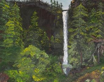 1918 Multnomah Falls