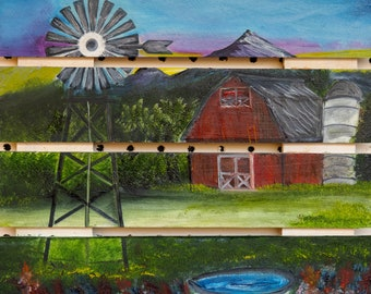 Country on Wood