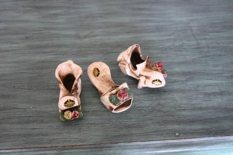 Whimsical set of three nuova capodimonte ceramiche porcellane etsy