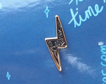Always | Potterhead Enamel Pin | Lapel Pin | Lightning Bolt Badge