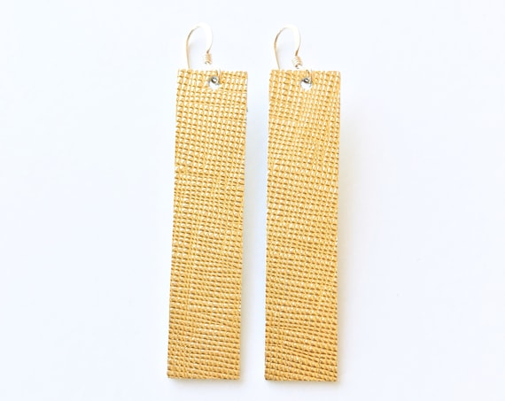 Gold or Silver Drop Earrings