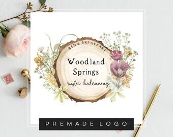 Wood Logo Etsy