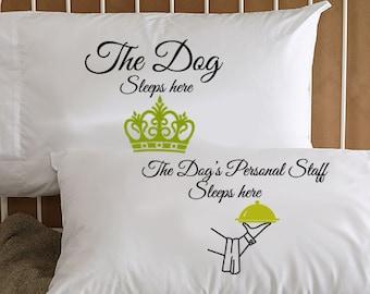 Lowchen Dog Side My Side Lowchen Pillow Case Lowchen Gifts Funny Lowchen Pillowcase