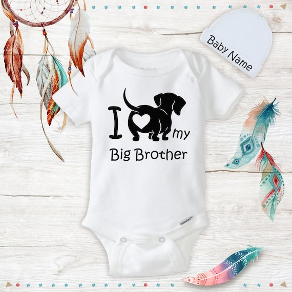 Weiner Dog Funny Doxy Newborn Jumpsuit Romper Baby Long Sleeve Bodysuit Clothes