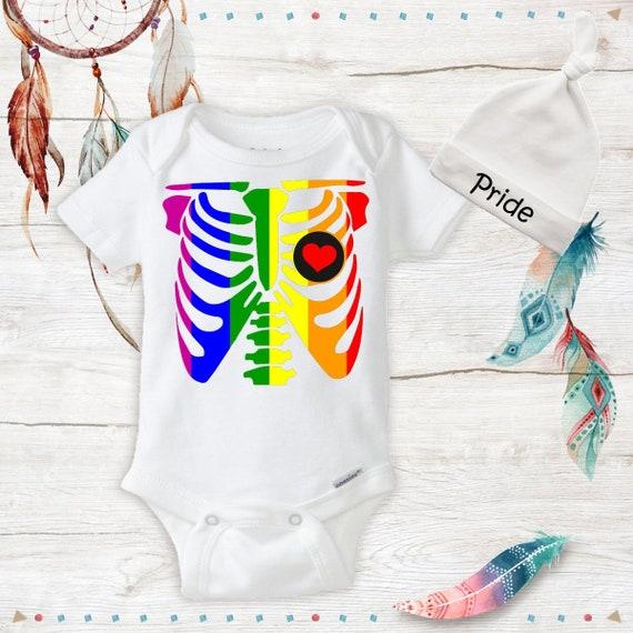 LGBT Rainbow Pride Infant Bodysuit