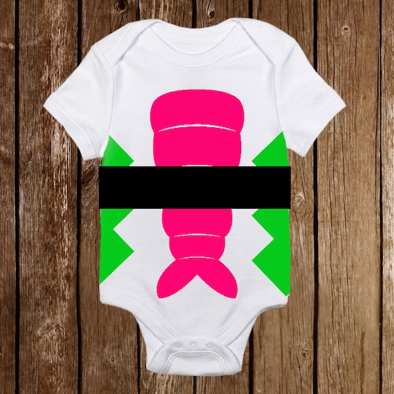 Personalized Halloween Chef Costume Onesies Sushi Funny unisex baby Infant
