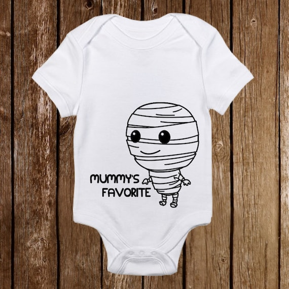 Unique Baby Mummy Costume Outfit Mummy Loves Me Hat Onesie Funny Cute unisex baby clothes Newborn halloween costumes for babies