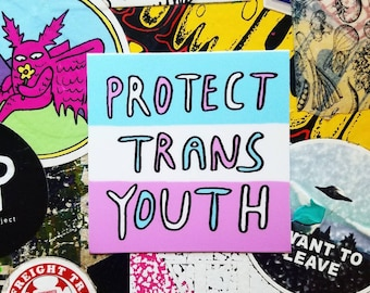 Protect Trans Youth Sticker
