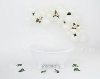 digital backdrop tub