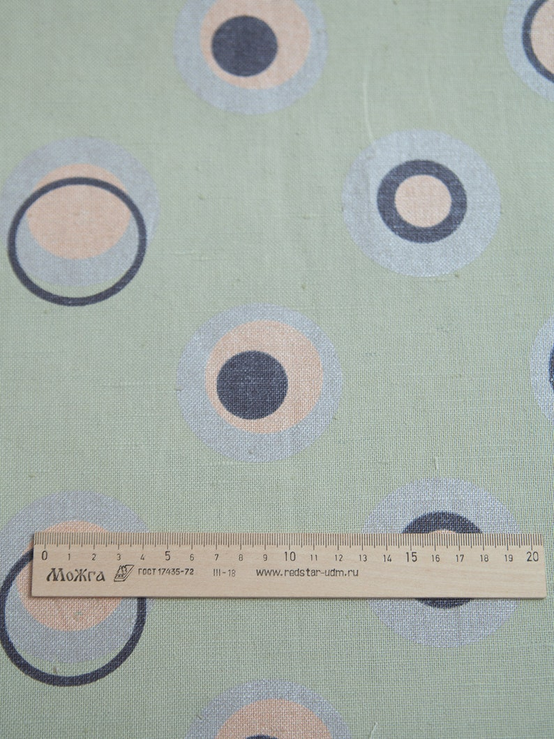 cotton linen fabric by the yard printed linen fabric Heavy weight linen fabric organic linen fabric