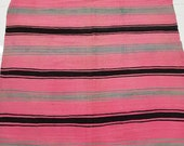Moroccan handmade Rug - Berber Pink Handira