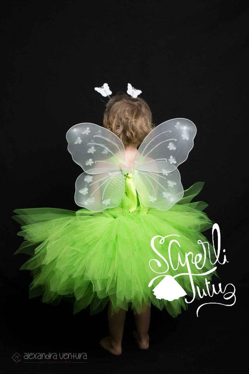 Dress Costume Tutu inspired Tinker Bell