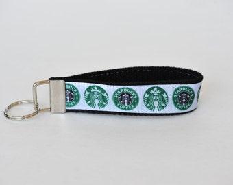 Starbucks Coffee Key Fob Lanyard