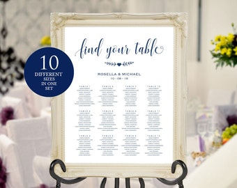 Seating Chart Template WPC/_388 Cranberry Wedding seating chart engagement seating chart Find your seat sign printable seating chart
