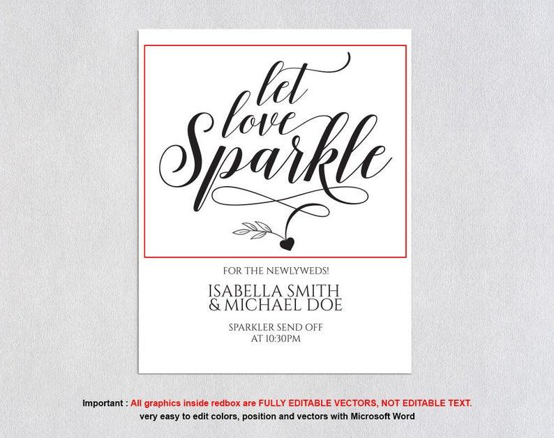 Sparkler Send Off Sign Instant Download Printable Sparkler Send Off Sign Sparkler Send Off Sign Sparkler Send Off Wedding Sign MSW34