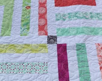 Patchwork quilt, quilt, Moda fabric