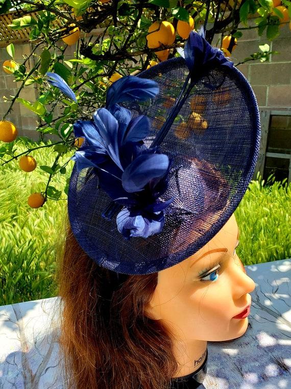 New Ladies Elegant Fascinator Feather Flower Light Fresh Design Aliceband