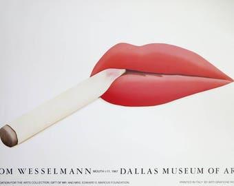 Andy Warhol Lips