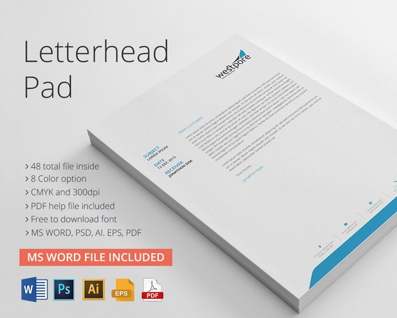microsoft word stationary template