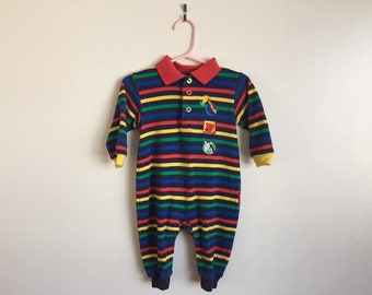 9 Month Le Top Rainbow Zoo Baby Outfit 2ed175a0c