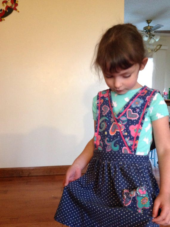 edd3ba248 Gymboree Winter Hearts Girl's Dress | Etsy