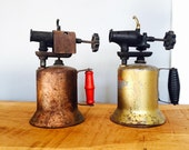 Pair of Vintage Rustic Blow Torches