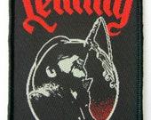 Lemmy - Motorhead - Microphone - Patch