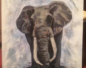 Elephant original painting